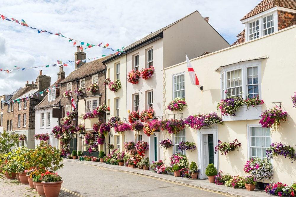 Flowers in Deal, Kent