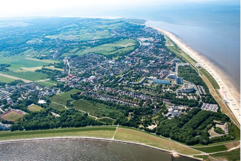 Neuwerk island near Hamburg
