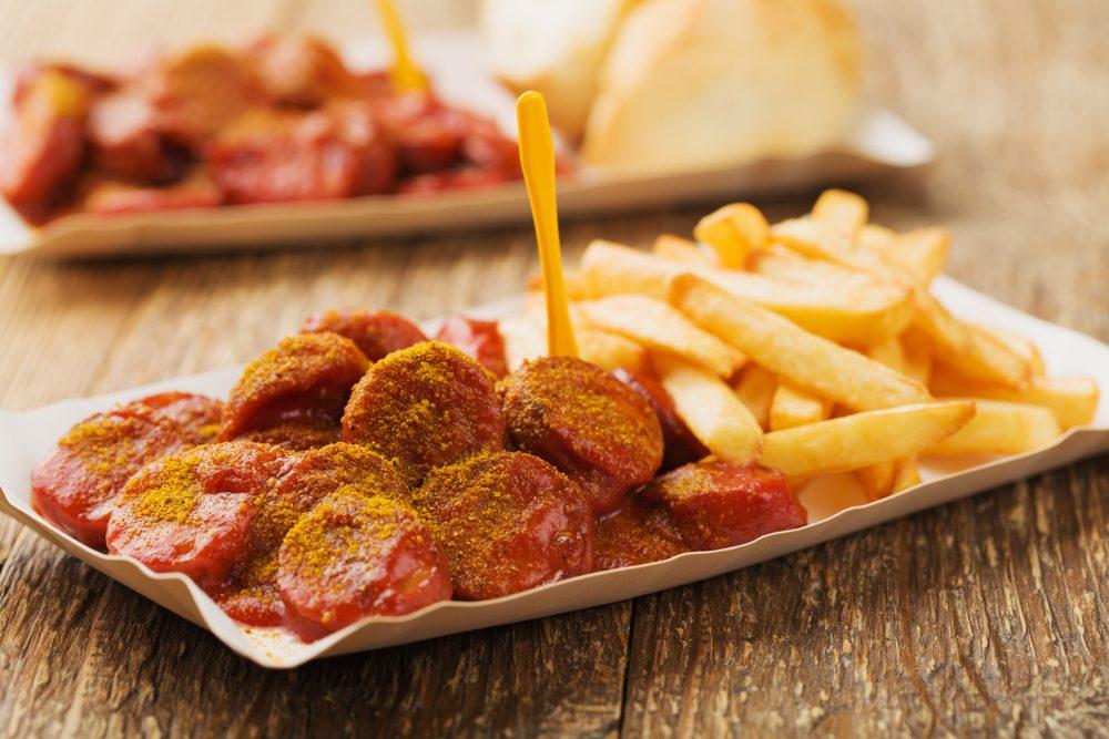 Currywurst street food