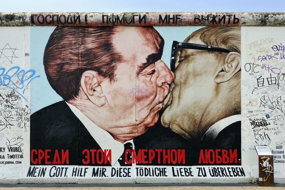The Kiss at East Side Gallery