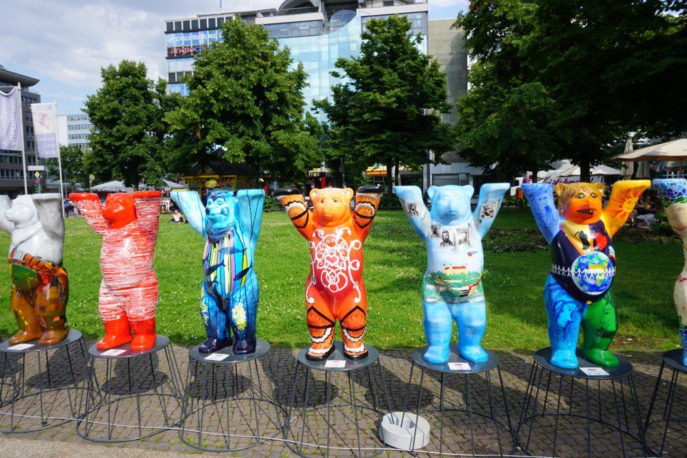 Buddy bears in Berlin