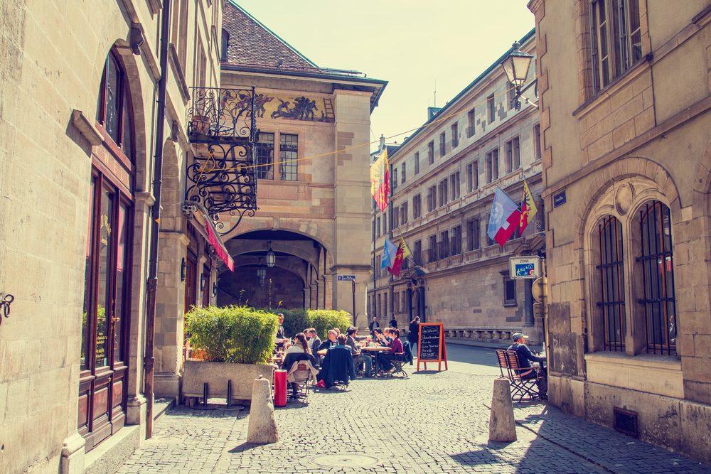 Old town of Geneva