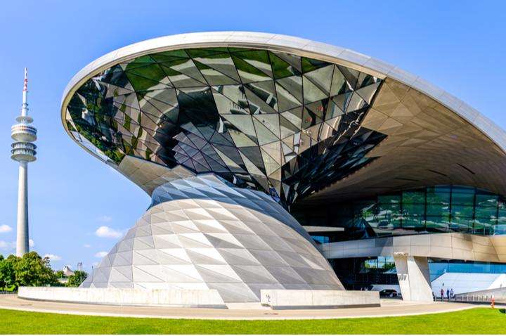 BMW Museum and BMW World in Munich