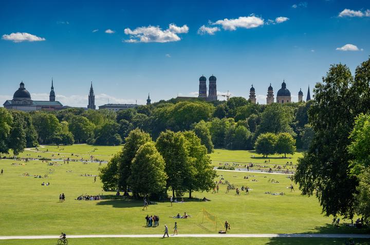 The English Garden in Munich