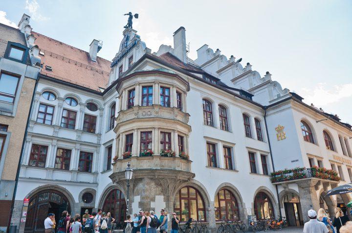 Hofbrauhaus tavern in Munich