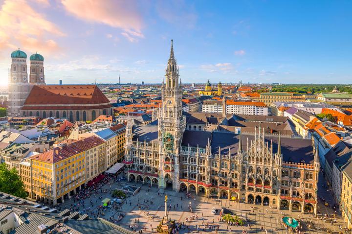 Marienplatz square in Munich