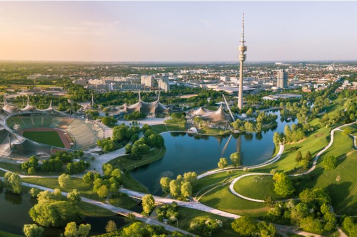 Olympic Park in Munich