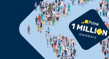eDreams Prime hits milestone of 1 million members