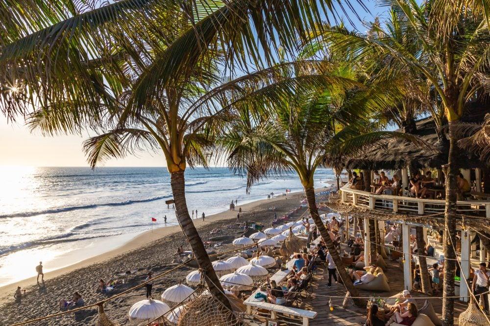 Beach in Canggu, Bali, Indonesia