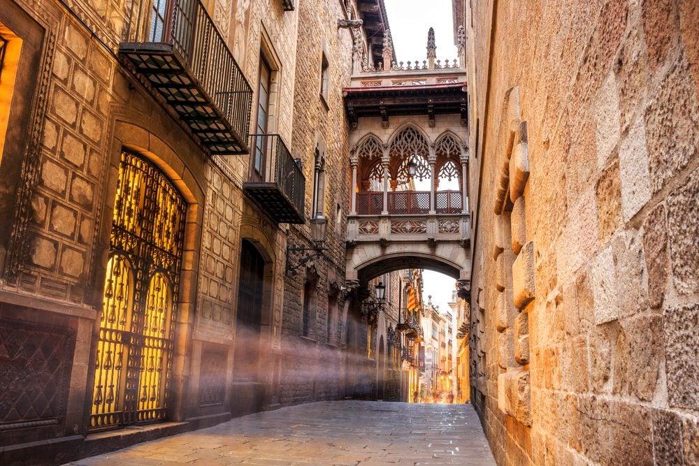 Gothic area of Barcelona