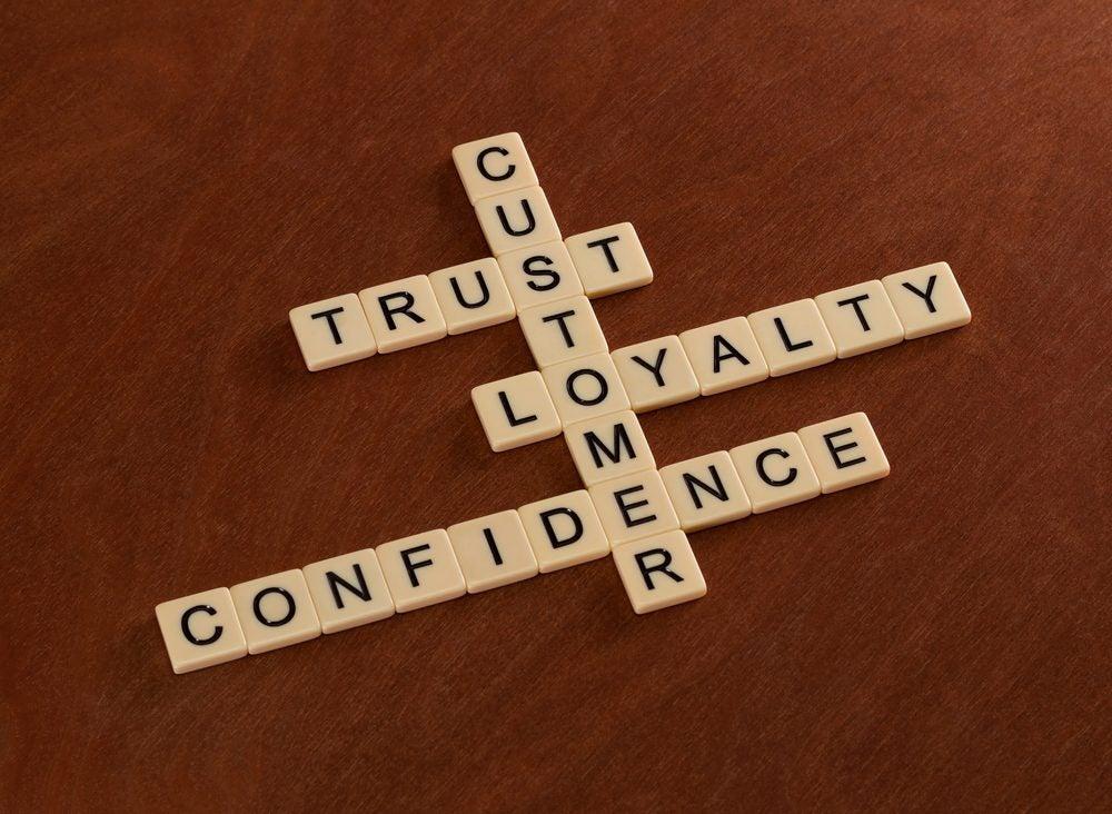 Customer loyalty puzzle