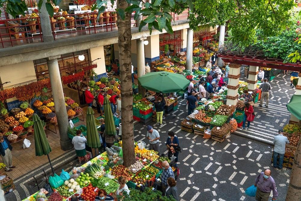 madeira holidays, market, funchal