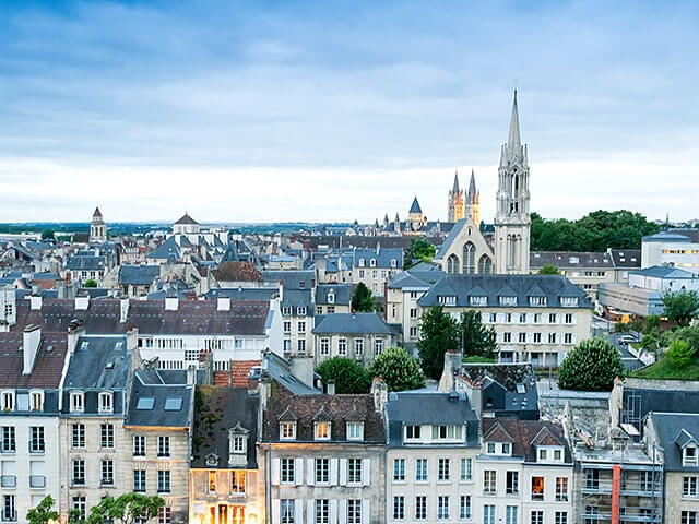 Book your holiday to Caen with onefront-EDreams