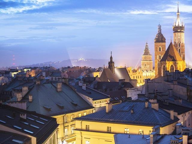 Book your holiday to Krakow with onefront-EDreams