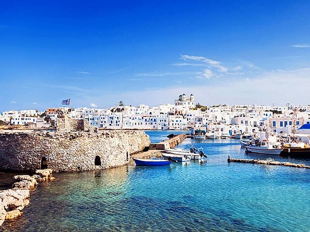 Book your holiday to Paros with onefront-EDreams