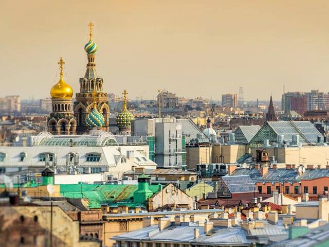 Book your holiday to St Petersburg with onefront-EDreams