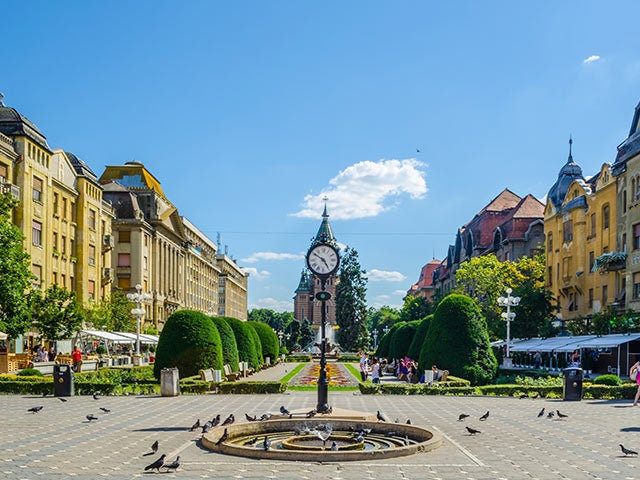 Book your holiday to Timisoara with onefront-EDreams