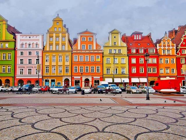 Book your holiday to Wroclaw with onefront-EDreams