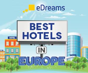 banner best hotels in Europe